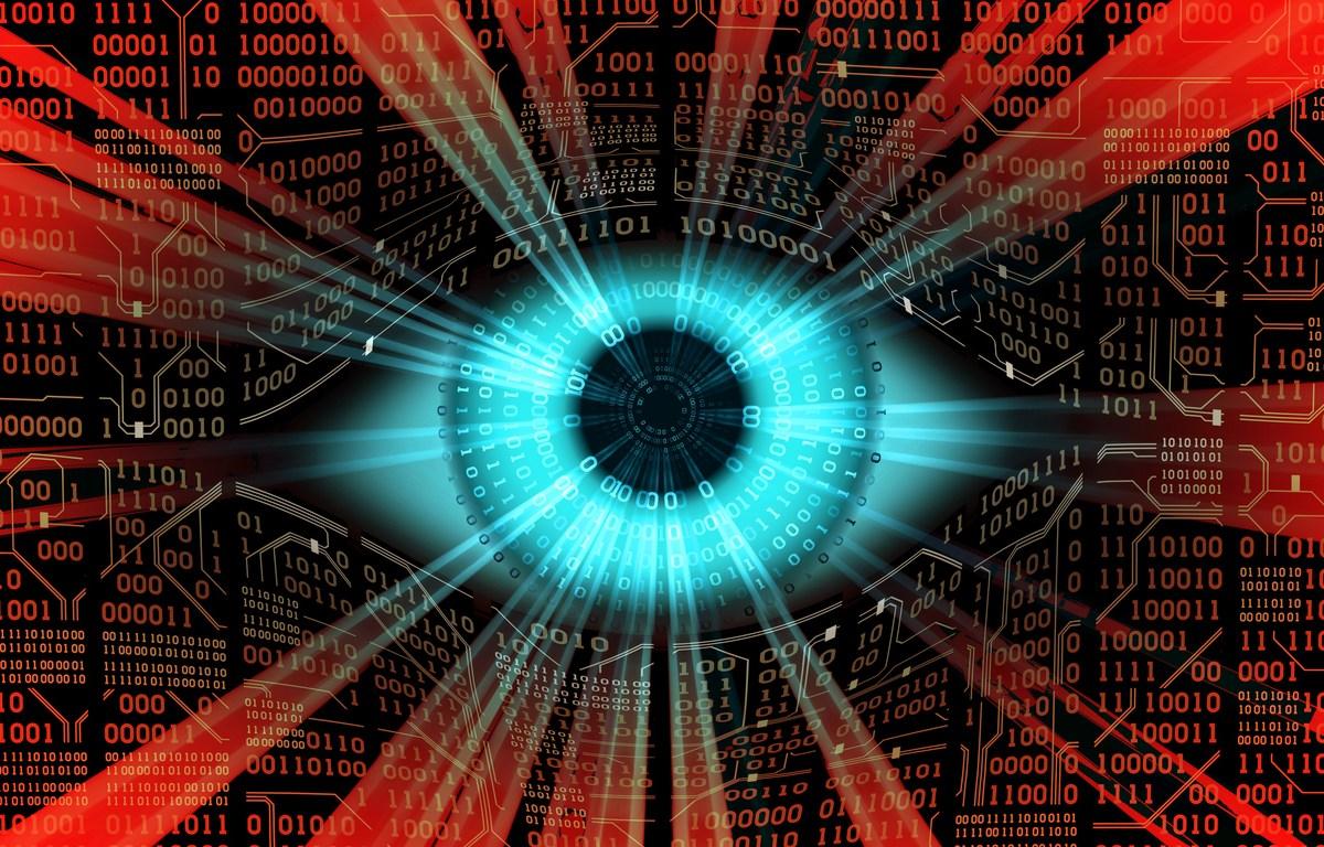 Computer digital technology, global surveillance. Photo: iStock