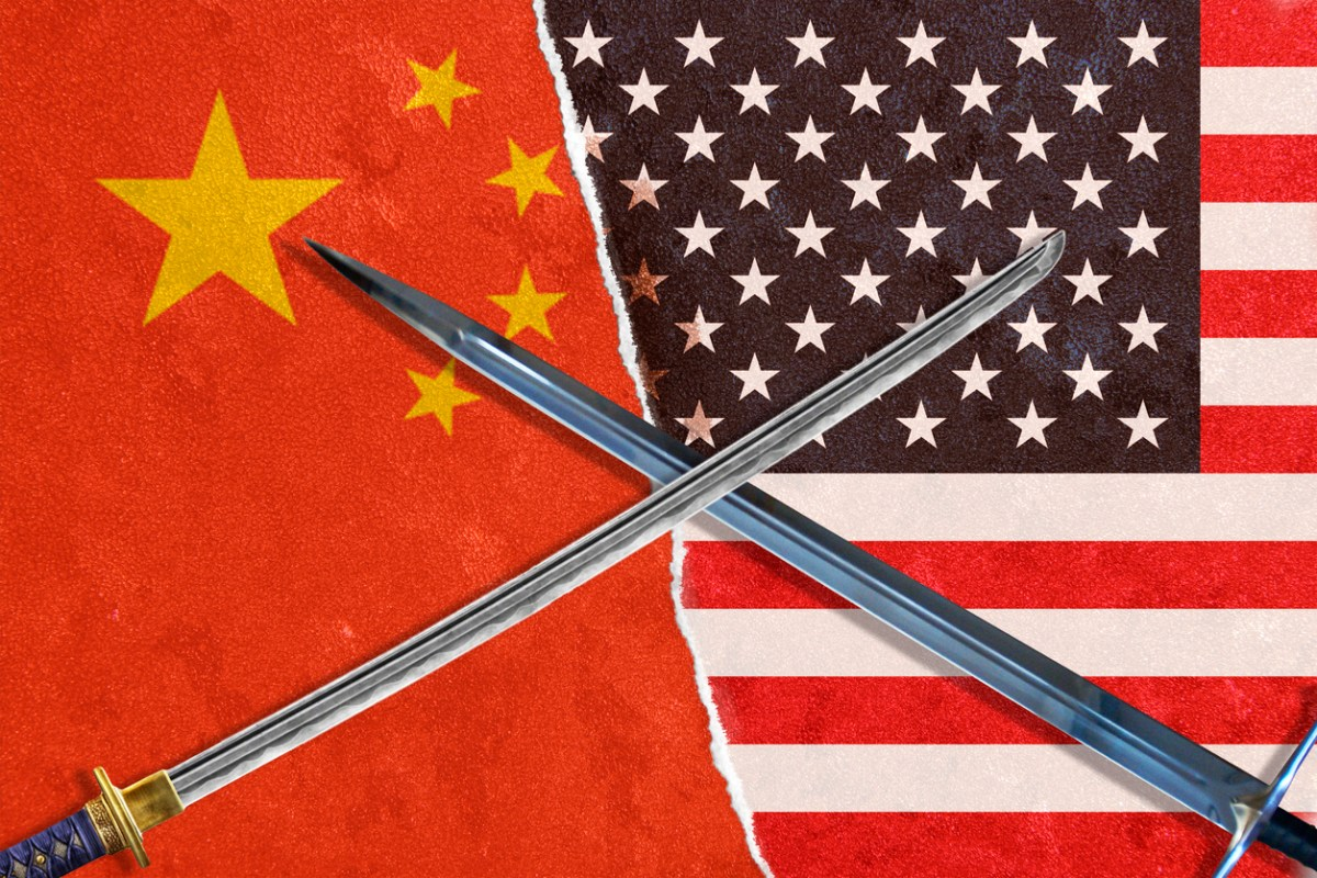 The United States and China are fighting for world hegemony. Photo: iStock