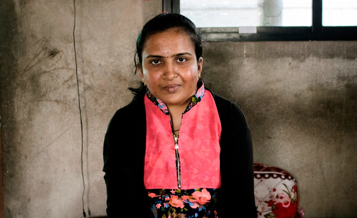 Mayuri Patil, the first woman to become an Excise Sub-Inspector from her village in Maharashtra, India, has inspired other girls in her area to pursue their dreams. Photo: 101 Reporters