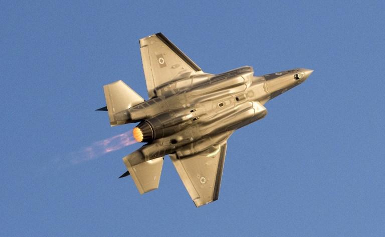 An Israeli Air Force F-35 Lightning II fighter jet. Photo: AFP/Jack Guez