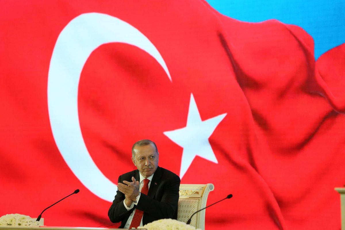 Turkish President Recep Tayyip Erdogan. Turkish Presidential Palace via Reuters/Cem Oksuz