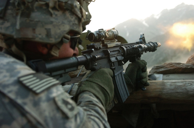 Yemen firefight. Photo: iStock