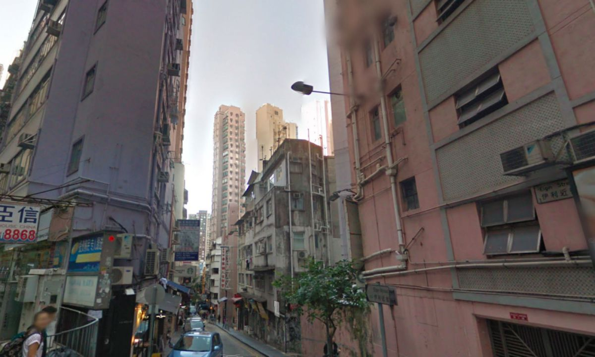 Central on Hong Kong Island. Photo: Google Maps