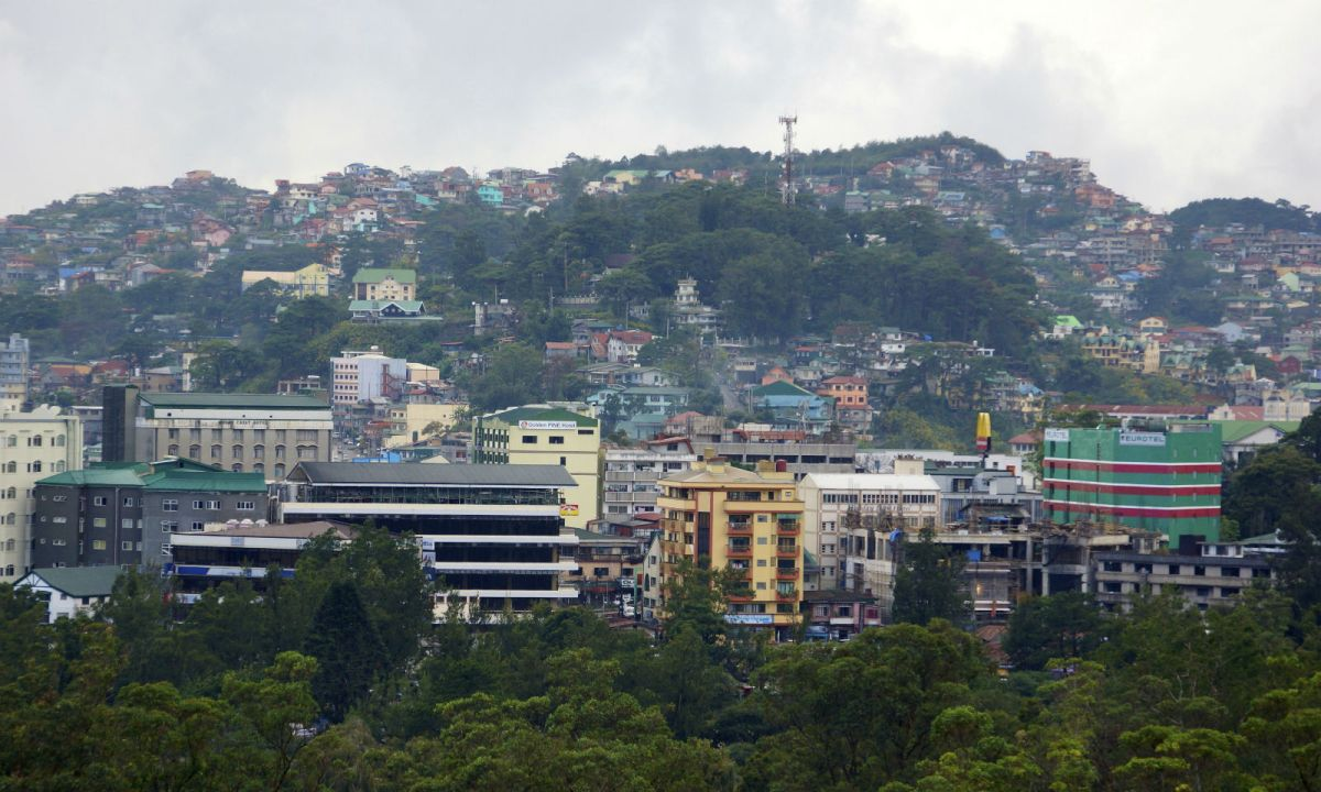 Baguio City in the Philippines. Photo: Wikimedia Commons