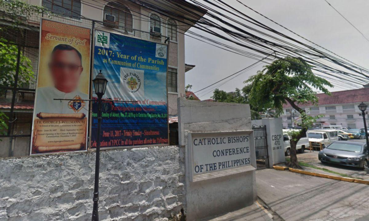 Catholic Bishops Conference of the Philippines. Photo: Google Maps