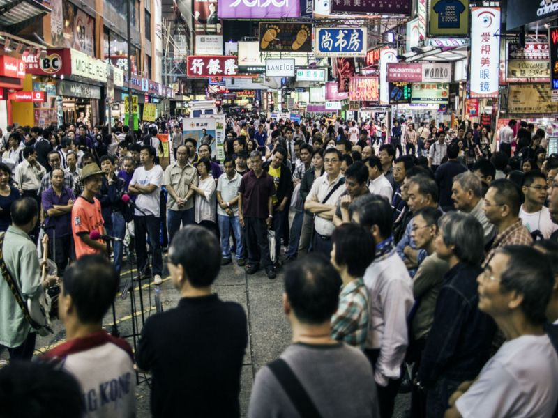 Mong Kok, Kowloon Photo: iStockphoto
