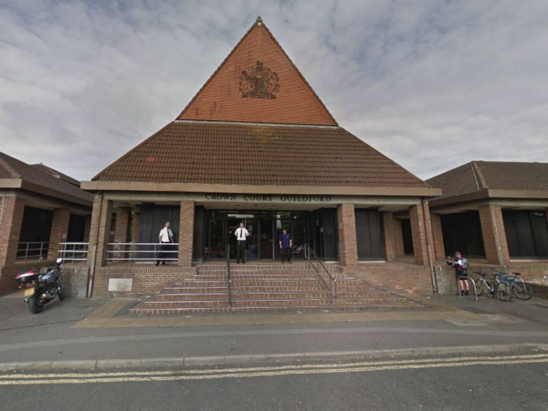 The Guildford Crown Court. Photo: Google Maps