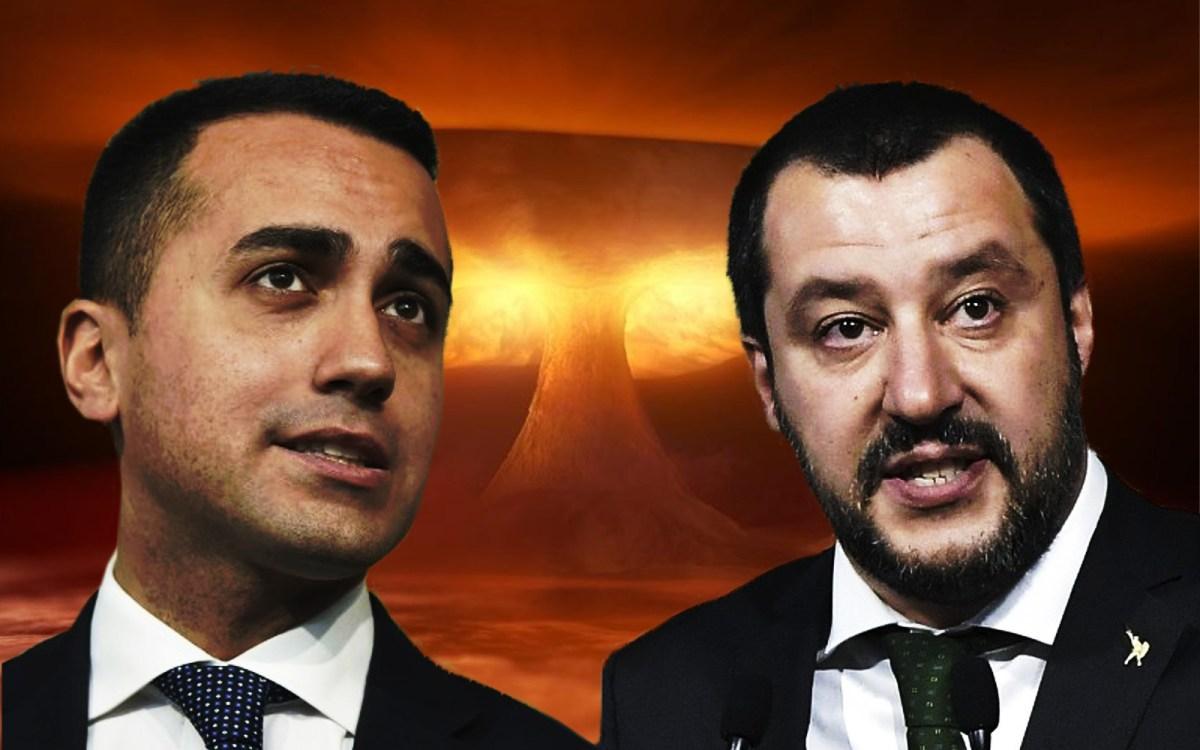 Anti-establishment Five Star Movement leader Luigi Di Maio (left) and leader of the far-right party Lega, Matteo Salvini. Photos: AFP, iStock