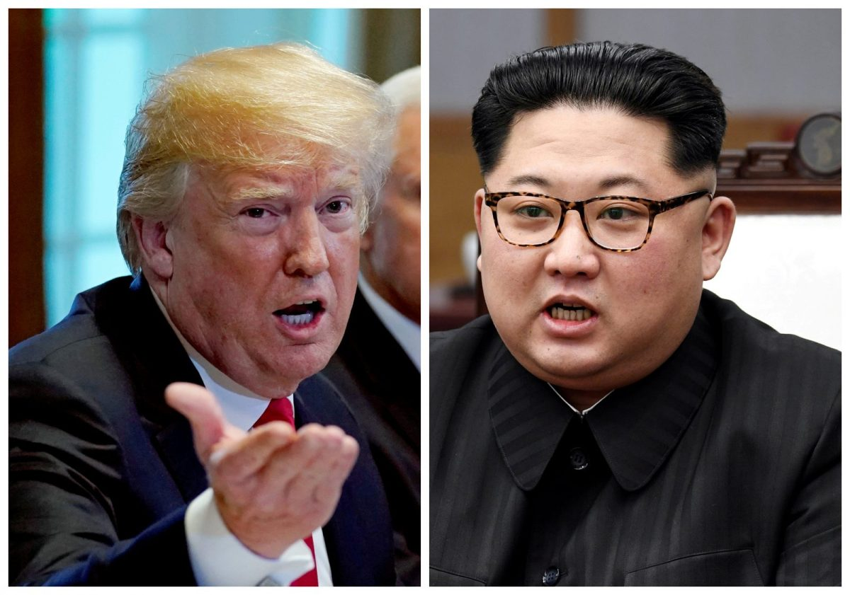 US President Donald Trump and North Korean leader Kim Jong-un will soon try to hammer out an agreement, but the end result may not be what each really wanted. Photo: Reuters/Kevin Lamarque and Korea Summit Press Pool
