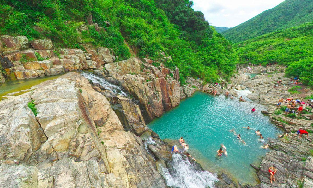 Four Pools in Sai Kung, New Territories. Photo: Google Maps, N John