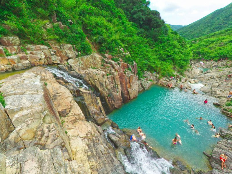 Four Pools in Sai Kung, New Territories. Photo: Google Maps, N John
