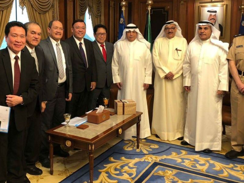 The Philippines and Kuwait signed a pact on the Employment of Domestic Workers on May 11. Photo: Philippine government