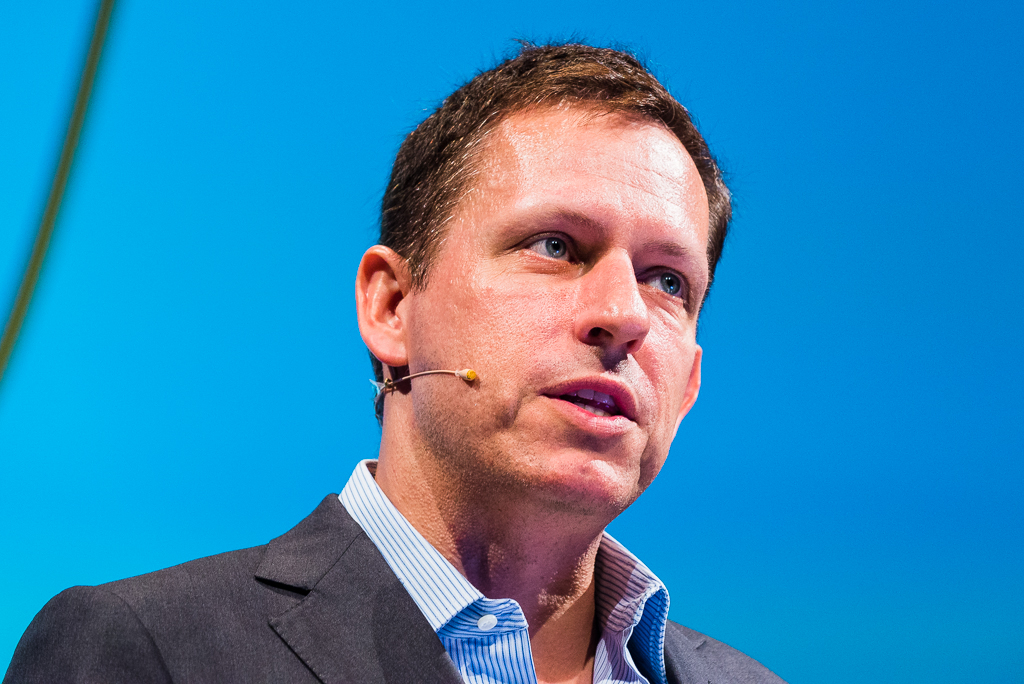 Peter Thiel. Photo: Dan Taylor/www.heisenbergmedia.com