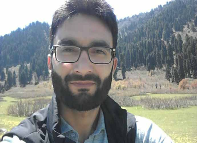 A file image of Professor Muhammad Rai Bhat, who was killed in clashes with police on Sunday in Shopian. Details about the circumstances of his death are still unclear. Photo: Majid Hyderi