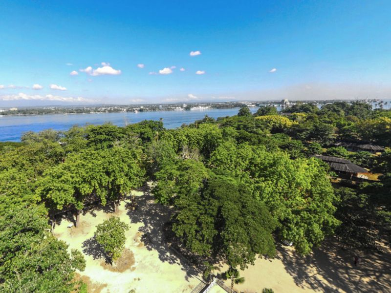 Island Garden City of Samal in Davao del Norte, Philippines. Photo: Google Maps