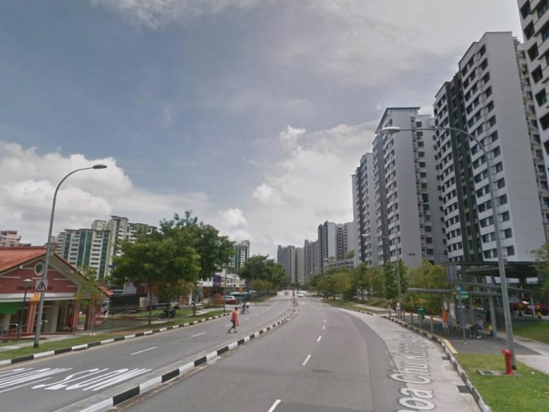 A neighborhood in Choa Chu Kang, Singapore. Photo: Google Maps