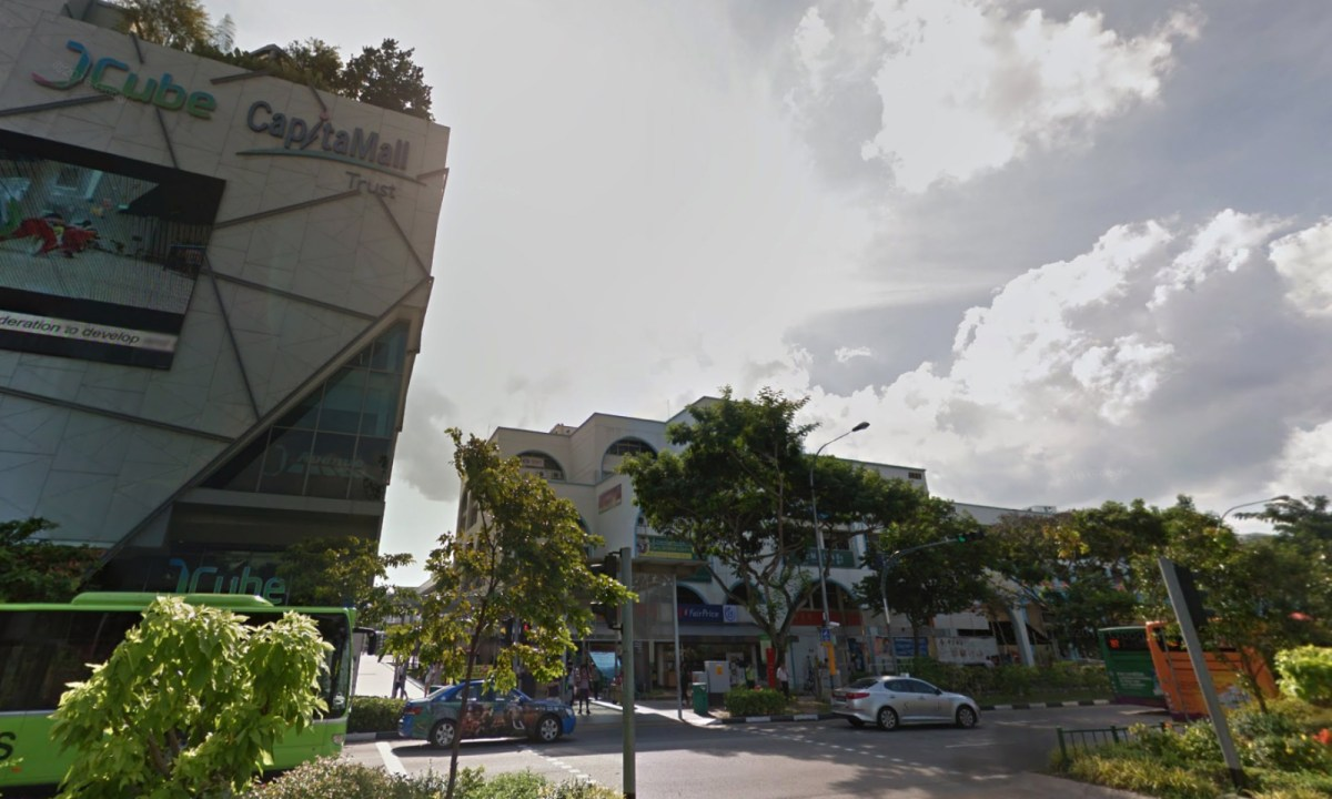 Jurong Gateway Road, Singapore. Photo: Google Maps