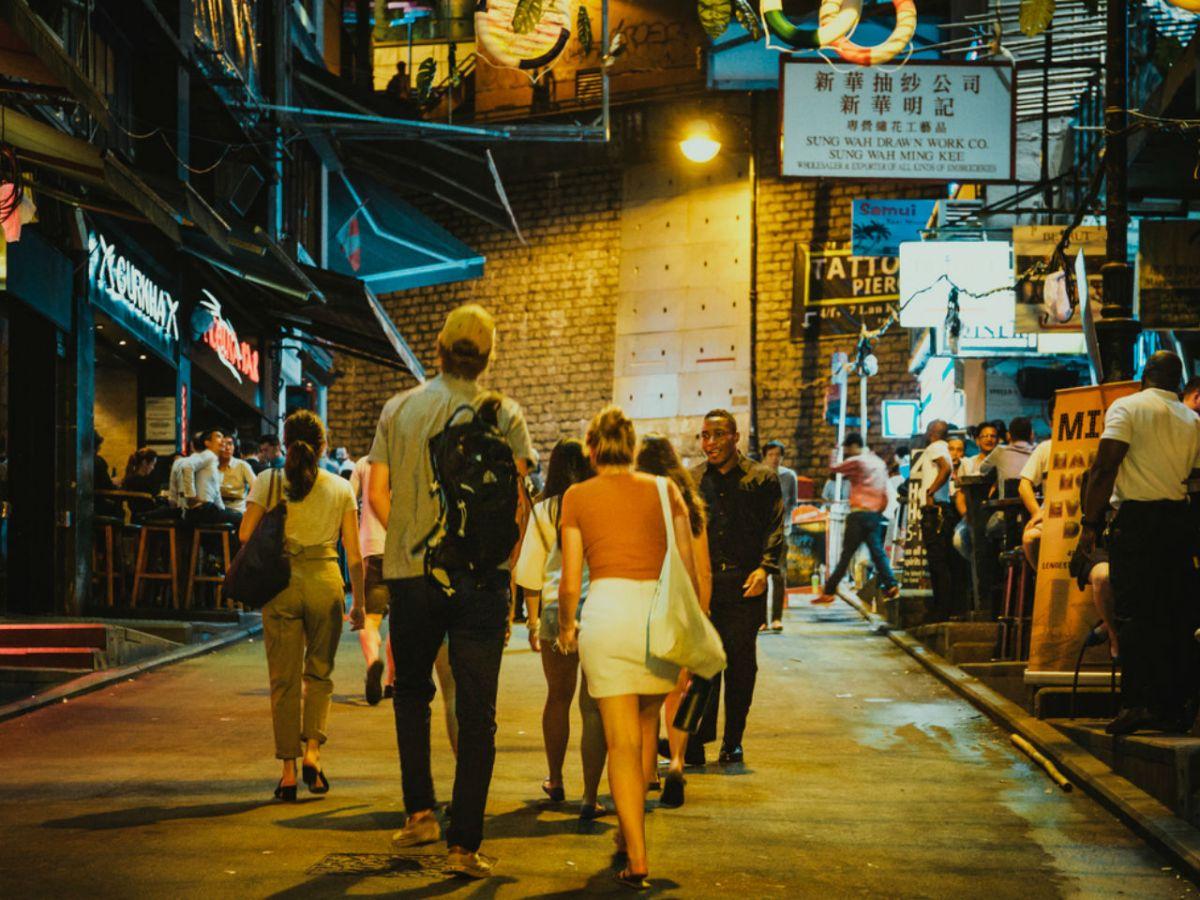 Lan Kwai Fong, Central, Hong Kong. Photo: iStock