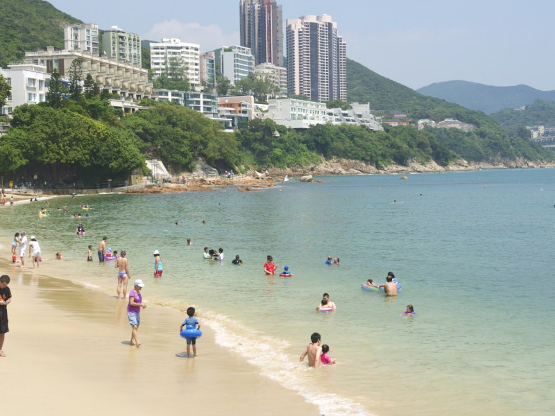 Stanley town beach on Hong Kong Island. Photo: iStock
