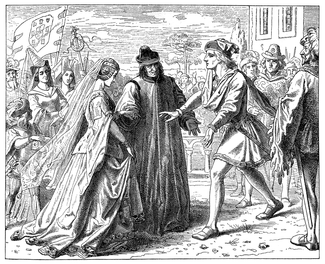 Illustration of a Friedrich's Reception of Eleanor. Photo: iStock