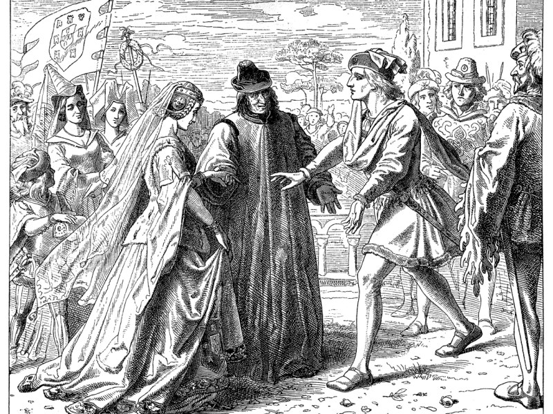 Illustration of a Friedrich's Reception of Eleanor. Photo: iStock