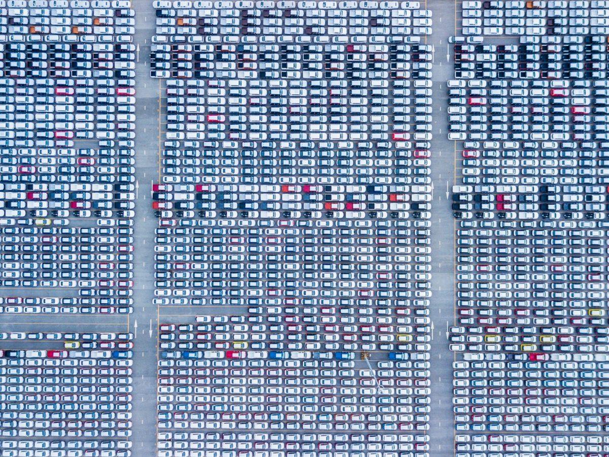 Lot of vehicles. Photo: iStock