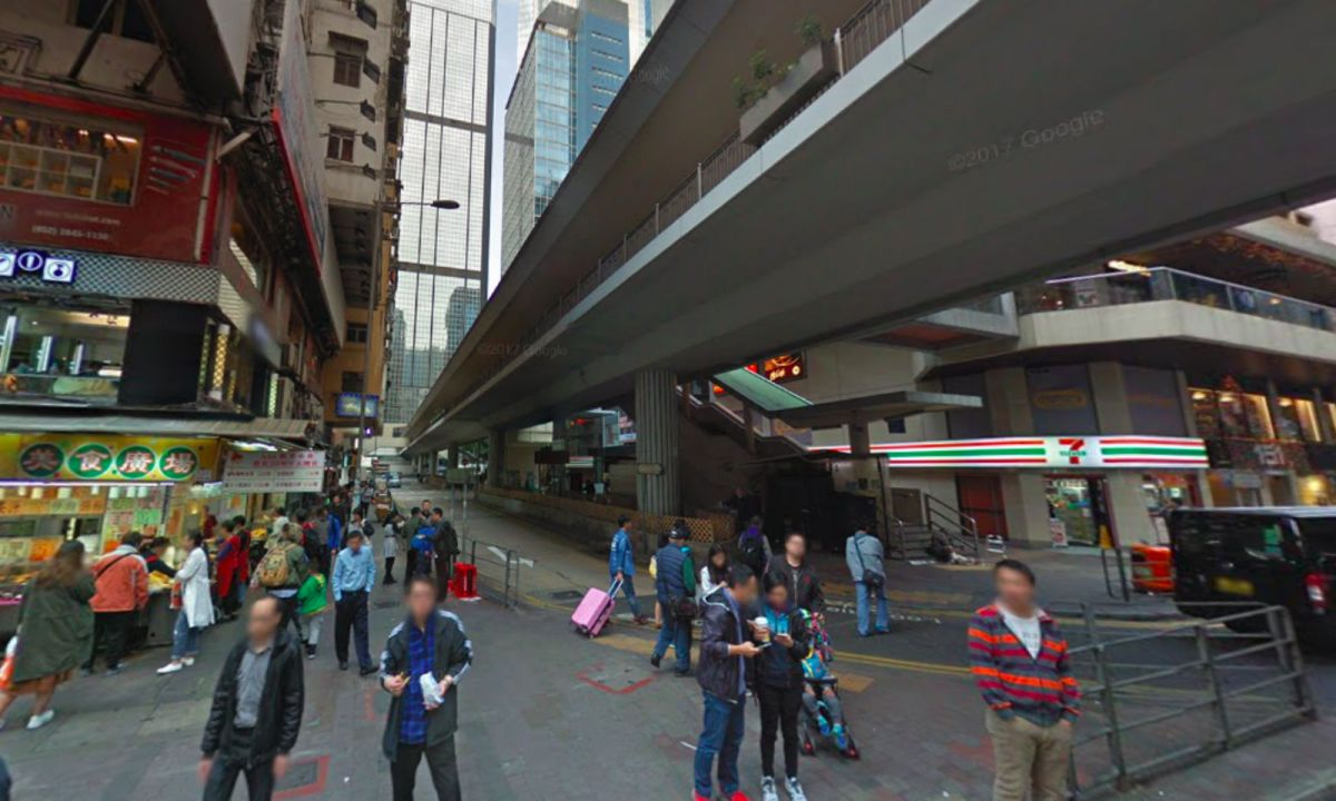 Lockhart Road in Wan Chai, Hong Kong Island Photo: Google Maps