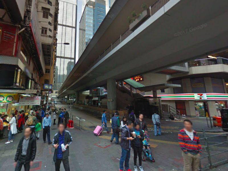 Lockhart Road in Wan Chai, Hong Kong Island Photo: Google Maps