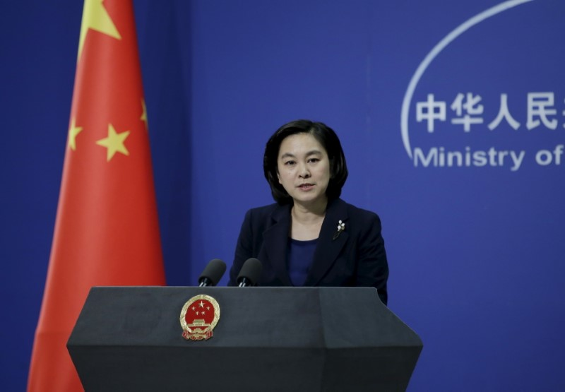 Chinese Foreign Ministry spokeswoman Hua Chunying. Photo: Reuters/Jason Lee
