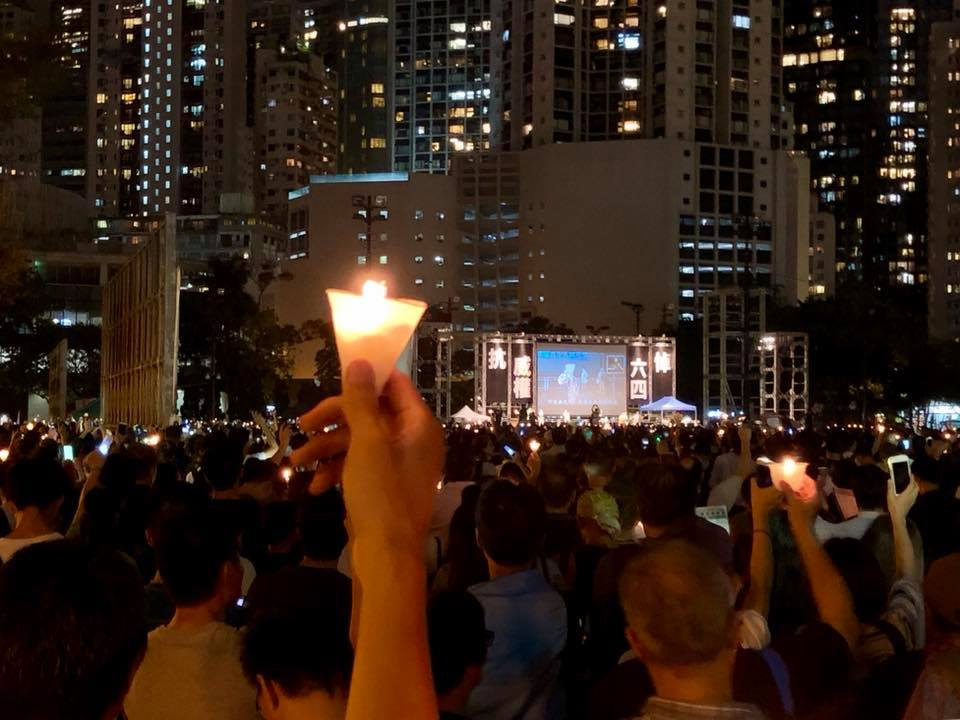 Hong Kong is the only city in China that can still hold assemblies condemning Beijing's brutality in the 1989 Tiananmen crackdown. Photo: Asia Times