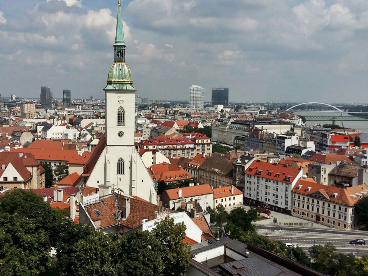 Bratislava, Slovakia. Photo: Wikimedia Commons