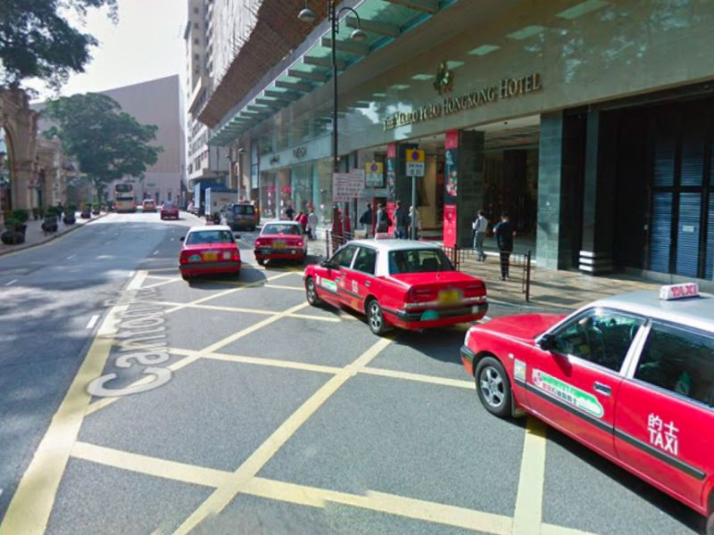 Canton Road in Tsim Sha Tsui, Kowloon. Photo: Google Maps