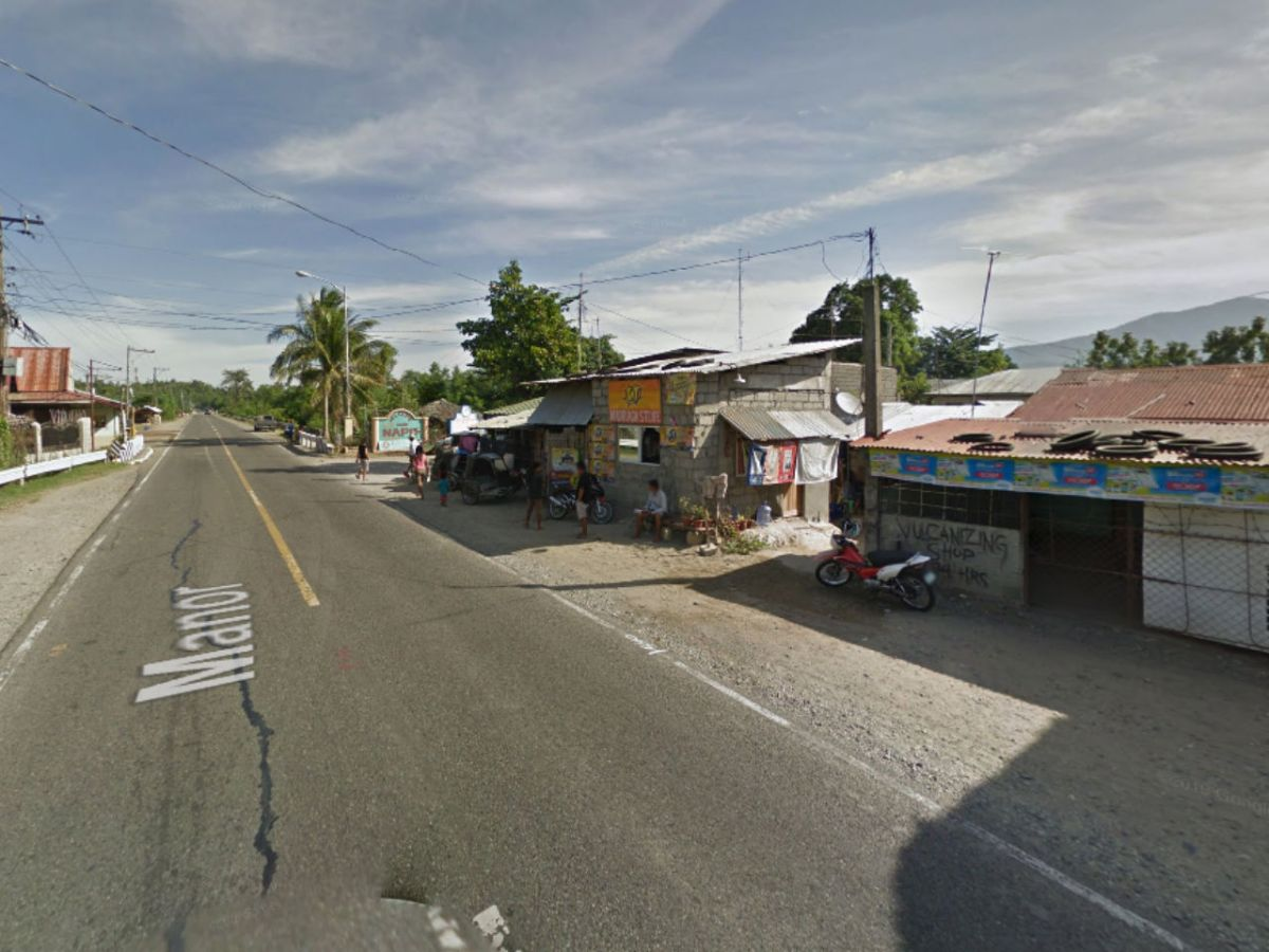 Sto. Domingo, Ilocos Sur, in the Philippines. Photo: Google Maps
