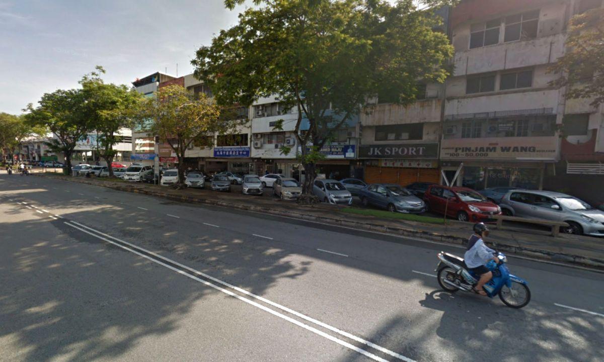 Jalan Bagan Luar in Malaysia. Photo: Google Maps