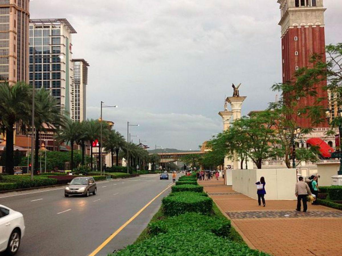 Cotai, Macau. Photo: Wikimedia Commons, Seader