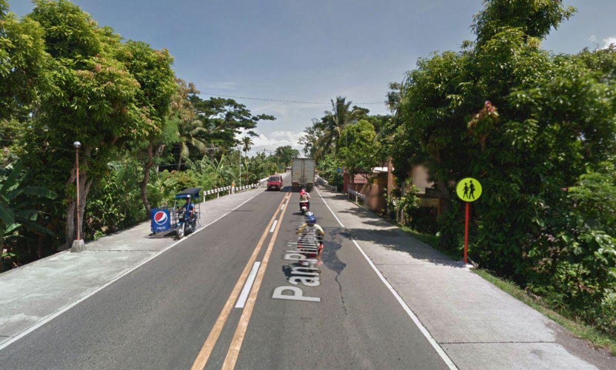 Maharlika Highway in San Fernando, Camarines Sur in the Philippines. Photo: Google Maps