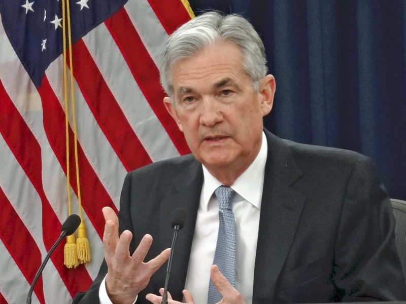 Federal Reserve chairman Jerome Powell. Photo: AFP/The Yomiuri Shimbun