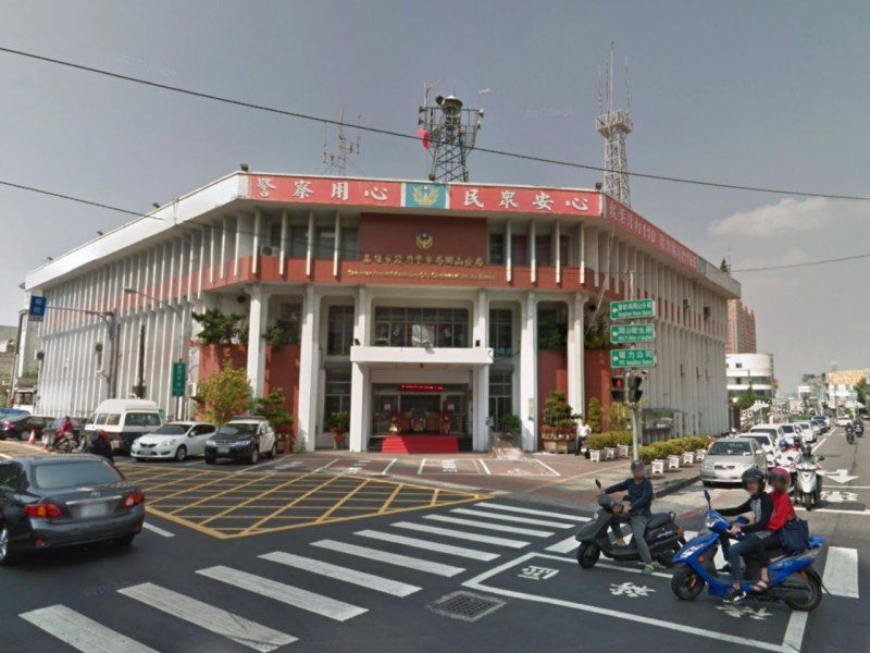 The Gangshan Precinct of the Kaohsiung City Police Department, Taiwan. Photo: Google Maps