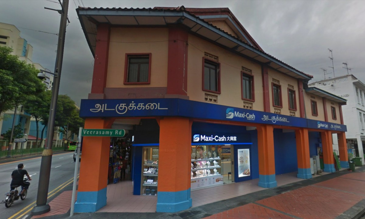 One of the Maxi-Cash branches on Serangoon Road, Singapore. Photo: Google Maps