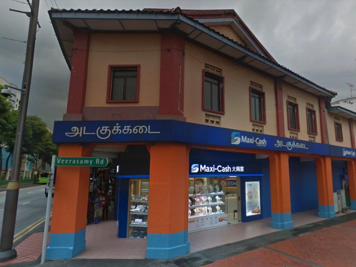One of the Maxi-Cash branches on Serangoon Road, Singapore. Photo: Google Maps