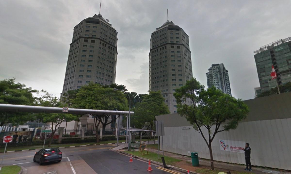 Singapore Police Headquarters on Irrawaddy Road, Singapore. Photo: Google Maps