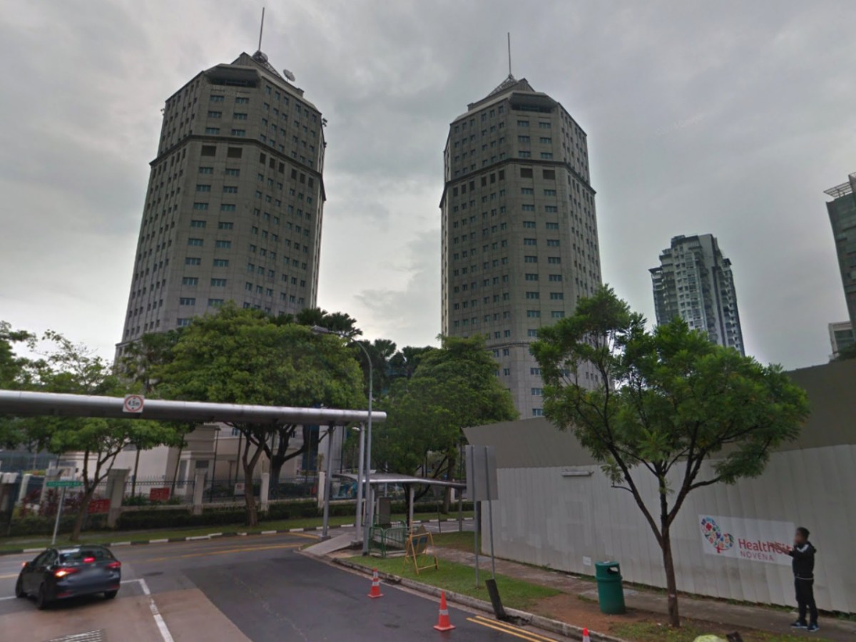 Singapore Police Headquarters on Irrawaddy Road, Singapore. Photo: Google Maps