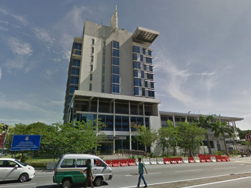 Sentul police station in Kuala Lumpur, Malaysia. Photo: Google Maps