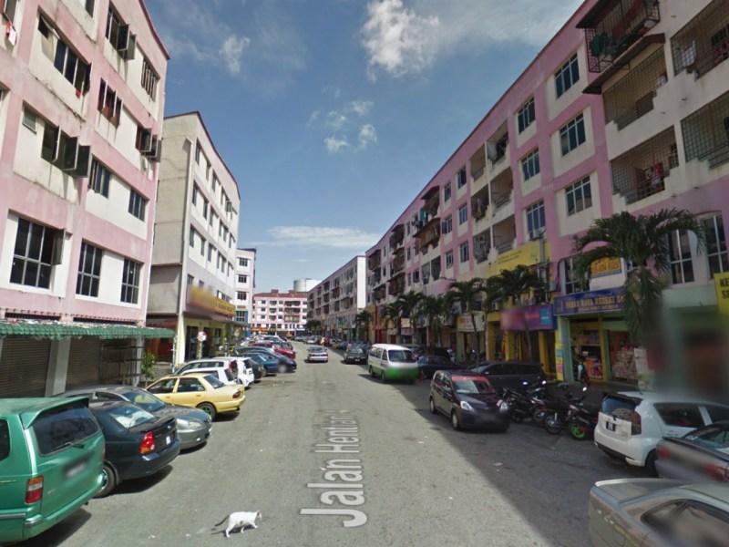 Jalan Hentian 4 of the Kajang bus terminal in Selangor, Malaysia. Photo: Google Maps