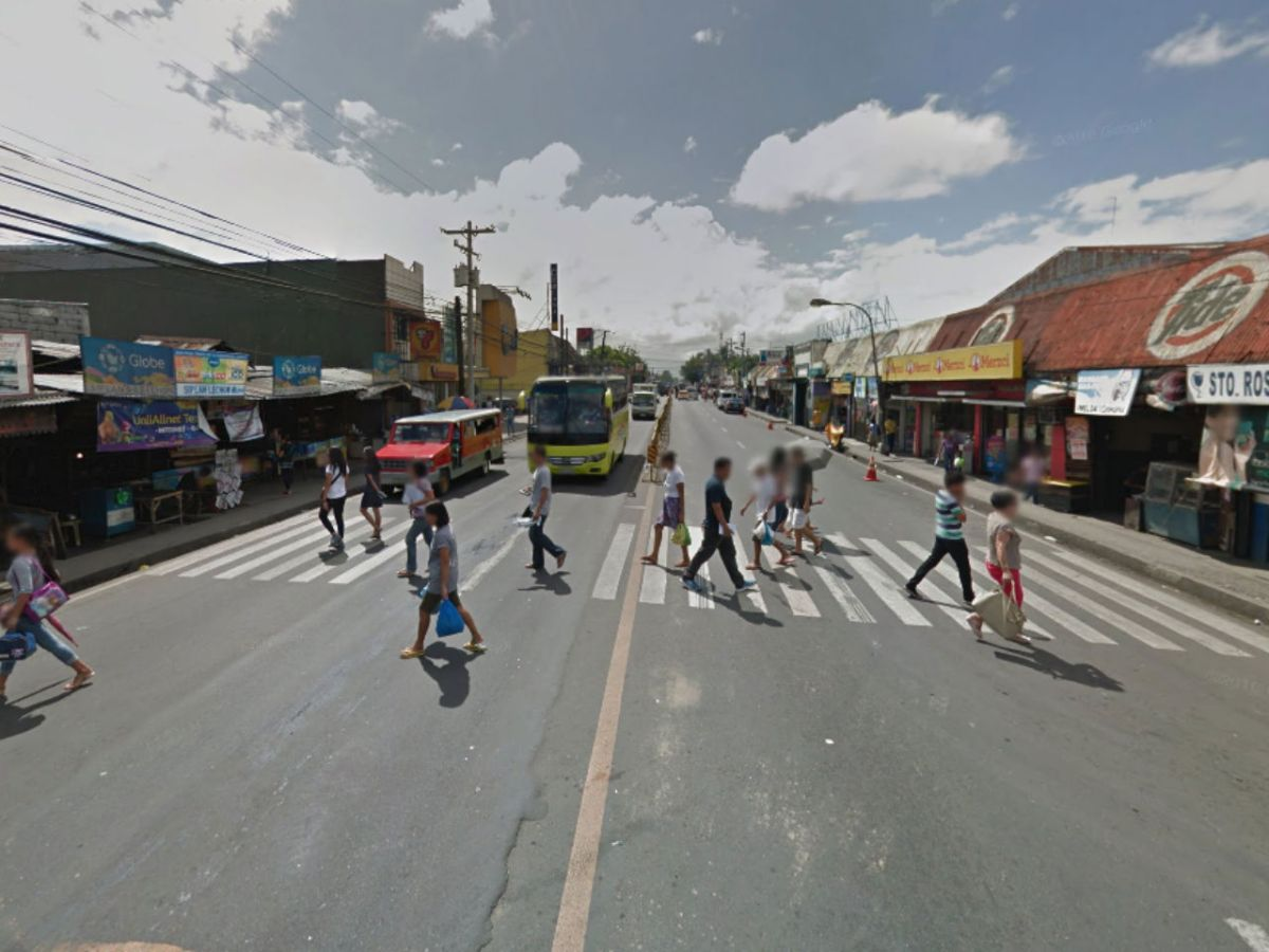 Talisay City in Negros Occidental, Philippines. Photo: Google Maps