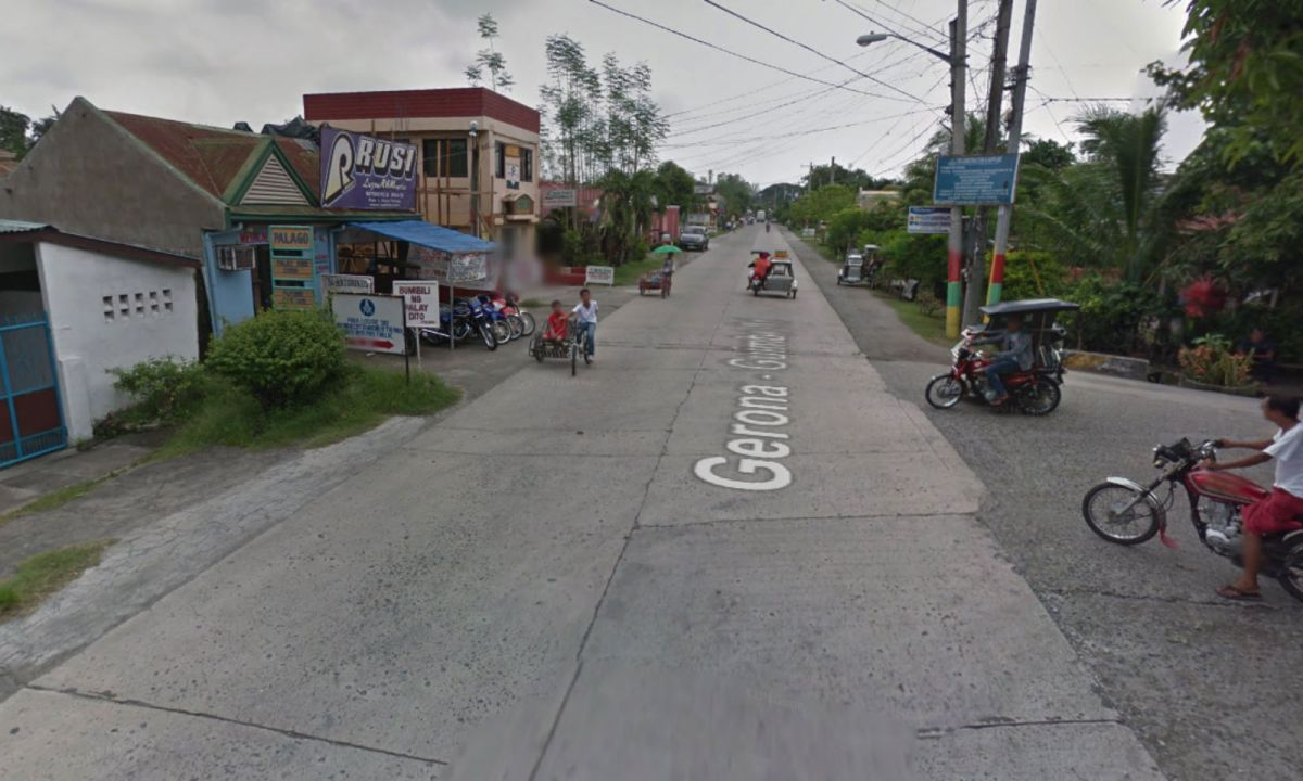 Pura in Tarlac, the Philippines, where the man alleged the robbery took place. Photo: Google Maps