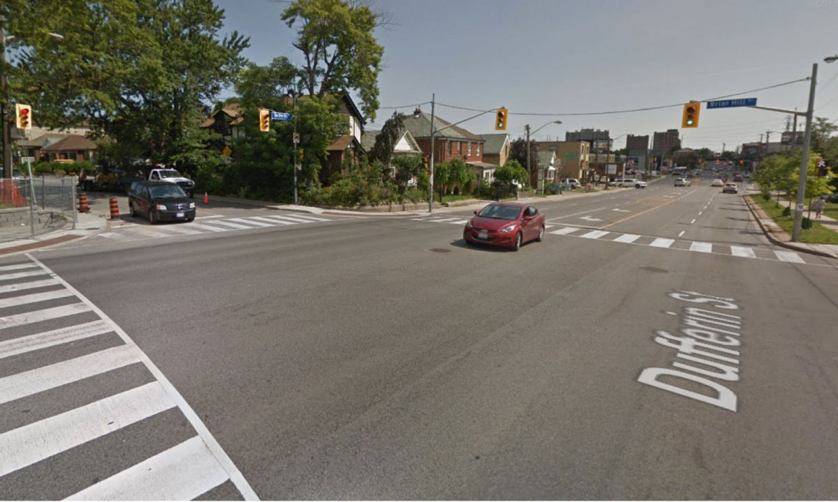 Dufferin Street and Briar Hill Avenue in Toronto. Photo: Google Maps