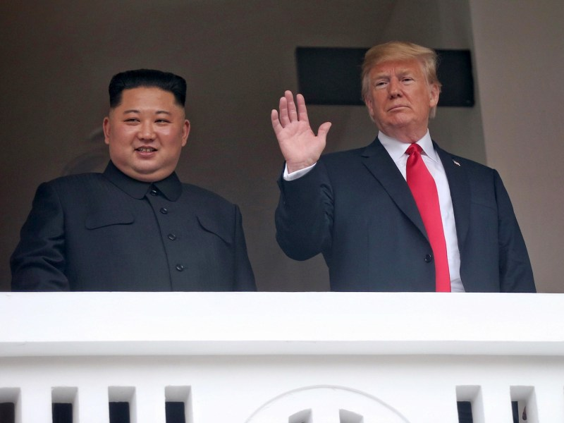 Kim Jong-un and Donald Trump are remarkably similar in manner, one expert has said. Another has detailed different scenarios that could play out in coming months and years. Photo: Summit pool/ Straits Times