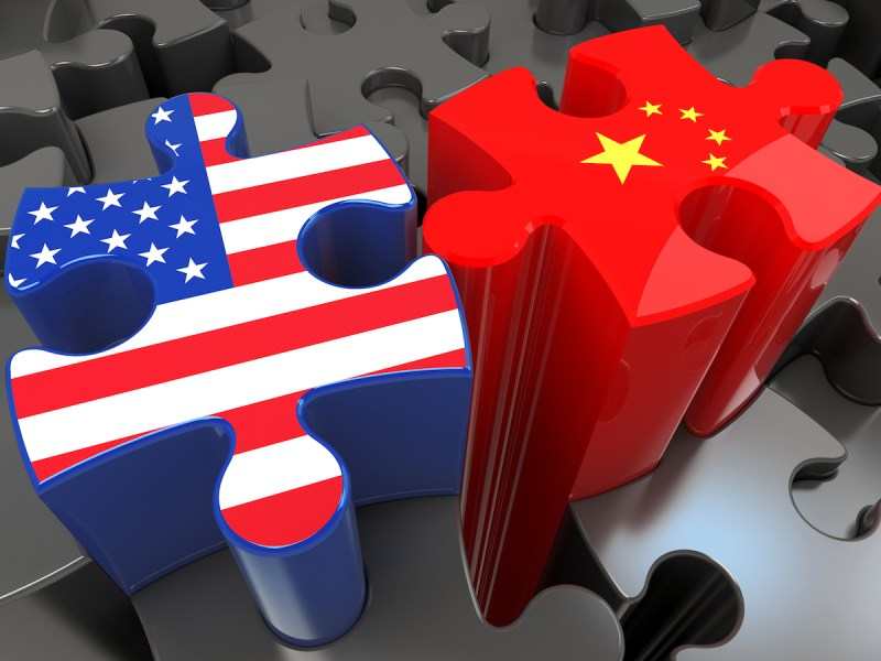 China is locked in a conundrum with the United States over trade. Illustration: iStock.
