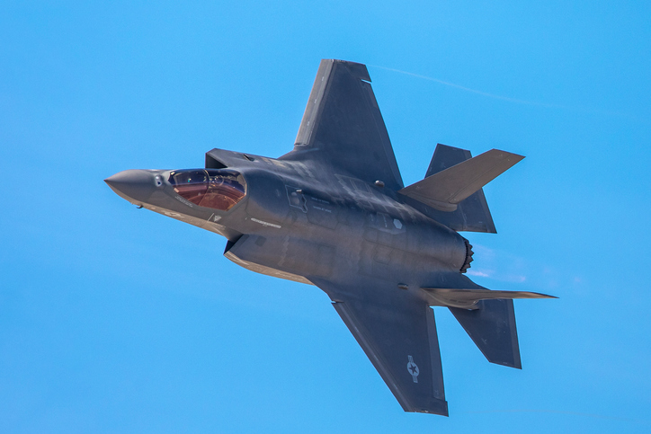 F-35 Lightning II. Photo: iStock